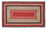 Classy Styled Tacoma Jute Rug Rect by VHC Brands