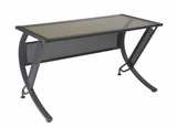 Classy Stylized Attractive Horizon L-Shaped Computer Desk by Office Star