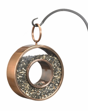 Fly-Thru Bird Feeder - Venetian Bronze by Good Directions