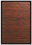 Cobblestone Bamboo Rug 6' x 9' Brand Anji Mountain by Anji Mountain
