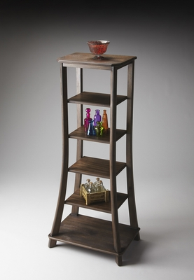 """Cocoa Etagere 56""""H by Butler Specialty"""