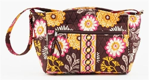 Cocoa Le Fleru Handbag - Quilted Claire Purse By Bella Taylor Brand VHC