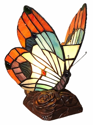 Colorful and Bright Butterfly Night Lamp by Chloe Lighting