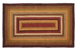 Colorful and Sweet Napa Valley Jute Rug Rect by VHC Brands