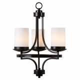 Columbia Rock Exquisitely Styled Three Light Chandelier by Yosemite Home Decor
