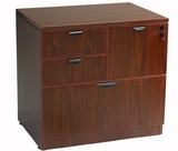 Combo Lateral File, Mahogany 31x22 by Boss Chair