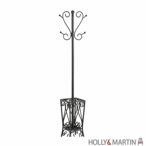 Compact and Durable Brighton Metallic Coat Rack and Umbrella Stand by Southern Enterprises