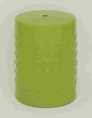 """Compact and Portable 18"""" H Ceramic Stool in Sparkling Bright Brand Woodland"""