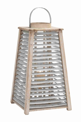 Compact & Lightweight Metal Lantern with Multi Hook Facility Brand Woodland