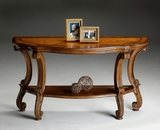 "Connoisseur's Console Table 54""W by Butler Specialty"