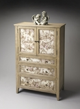 "Connoisseur's Tall Door Chest 34""W by Butler Specialty"