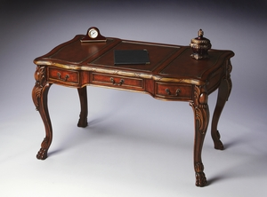 """Connoisseur's Writing Desk 50""""W by Butler Specialty"""