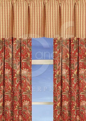 Constantine Drapery Panel Each 50 x84 Inches Brand C&F