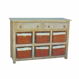Contemporary Designed Storage Cabinet by Yosemite Home Decor