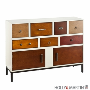 Contemporary Holly & Martin Longford Console Table by Southern Enterprises