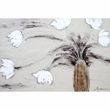 Contemporary Masterpiece of Floral Impressions I by Yosemite Home Decor