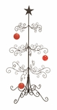 """Contemporary Metal Christmas Tree w/ Iron Branches 48""""H, 24""""W by Woodland Import"""