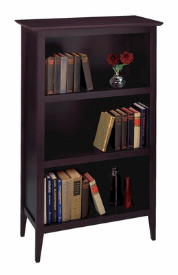 Contemporary Style Fantastic Toscana Bookcase by Winsome Woods