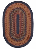 Contemporary Styled Arlington Jute Rug Oval by VHC Brands