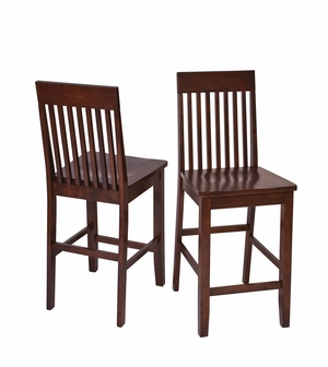 Contemporary Styled Attractive Westbrook 2pk Barstools by Office Star
