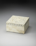 Contemporary Styled Bone Inlay Storage Box by Butler Specialty