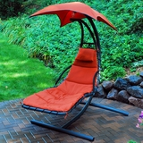 Contemporary Styled Cloud 9 Hanging Chaise Lounger by Alogma