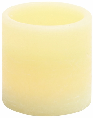 Contemporary Styled Elegant Led Wax Candle by Woodland Import
