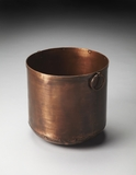 Contemporary Styled Erie Copper Planter by Butler Specialty