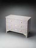 Contemporary Styled Fancy Bone Inlay Chest by Butler Specialty