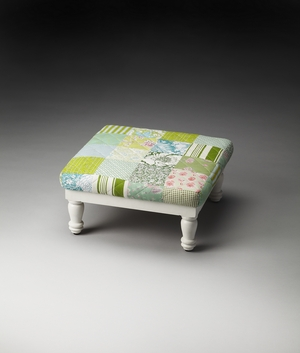 Contemporary Styled Hildy Patchwork Stool by Butler Specialty