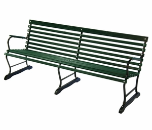 Contemporary Styled Paddock Style Bench by Alogma