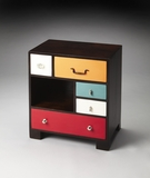 Contemporary Styled Rhapsody Retro Accent Chest by Butler Specialty