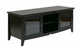 Contemporary Styled Smart TV Stand in Black by Office Star