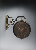 Contemporary Styled Wall Clock by Butler Specialty