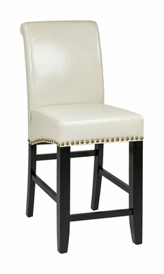 Contemporary Stylized Attractive Parsons Barstool by Office Star
