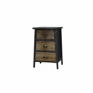 The Urban Port Contemporary Three Drawer Cabinet