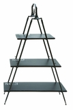 Contemporary Widening Shelf Tower With Numbered Shelves Brand Woodland