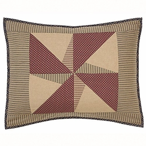 Cool and Captivating Providence Standard Sham by VHC Brands