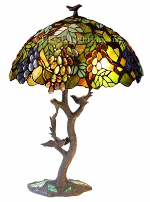 Cool and Colorful Floral Table Lamp by Chloe Lighting
