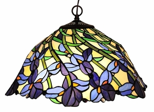 Cool and Delightful Iris Pendant Lamp by Chloe Lighting