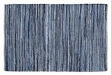 Cool and Distinct Denim & Hemp Chindi/Rag Rug Rect by VHC Brands