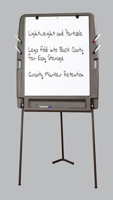 Cool and Useful Portable Flipchart Easel by Iceburg Enterprises