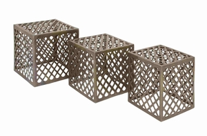 Copenhagen Captivating Creative Designer Stool Set Brand Benzara
