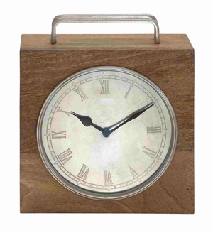 Copenhagen Charismatic Vintage Table Clock Brand Benzara