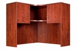 Corner Open Hutch, Cherry by Boss Chair