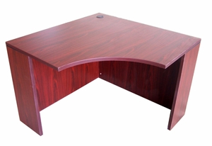 "Boss Chair Corner Table, Mahogany, 42""x42"""