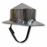 Costume _ LARP Helmet Kattle Hat with Chin Strap Brand IOTC