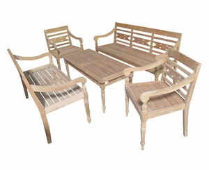 Cottbus Five-piece Home Furnishing Set, Heavy-duty Endearing Artwork by D-Art
