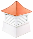 "Coventry Cupola 84"" x 123"" - Vinyl and Copper by Good Directions"