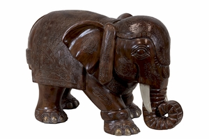 Coventry's Must Home Accessory Resin Elephant by Urban Trends Collection